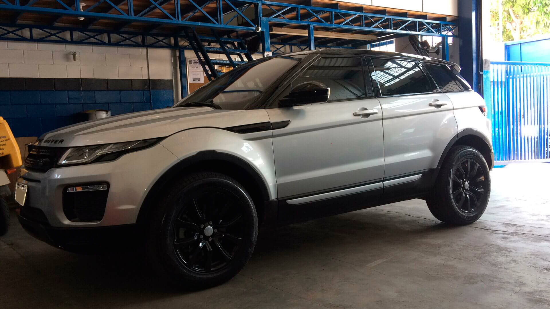Conserto Air Bag Range Rover Evoque